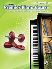 Premier Piano Course, Technique 2B
