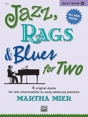 Jazz, Rags & Blues for Two, Book 4