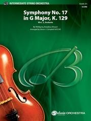 Symphony No. 17 in G Major, K. 129