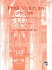 French Masterworks for Organ