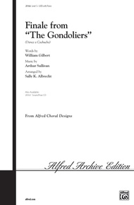 Finale from <i>The Gondoliers</i>
