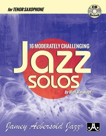 16 Moderately Challenging Jazz Solos