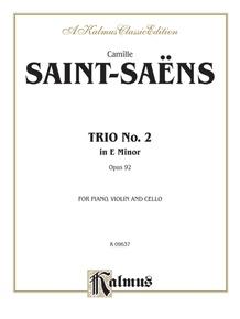 Trio No. 2, Opus 92
