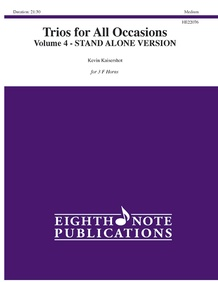 Trios for All Occasions, Volume 4 (Stand Alone Version)