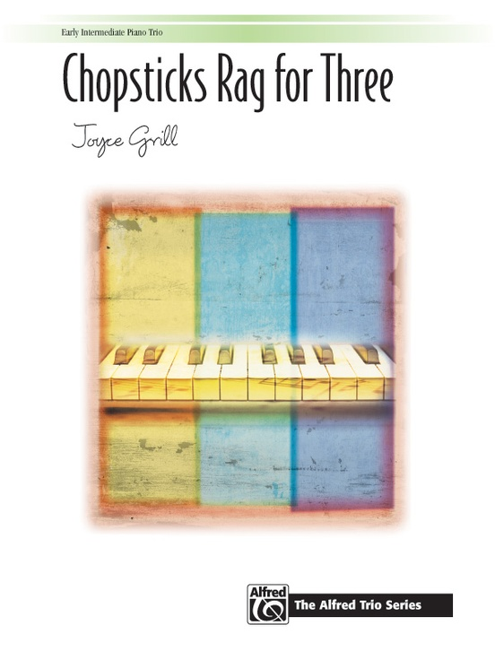 Chopsticks Rag for Three