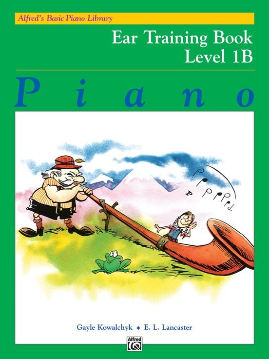 Alfred's Basic Piano Library: Ear Training Book 1B