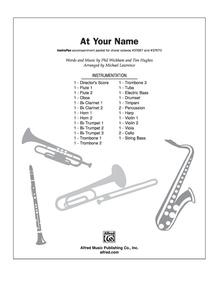 At Your Name (Yahweh, Yahweh)