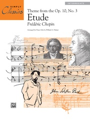 Etude, Opus 10, No. 3 (Theme)