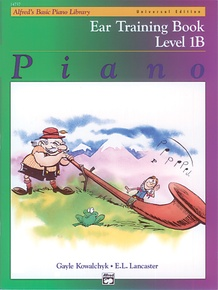 Alfred's Basic Piano Library: Universal Edition Ear Training Book 1B