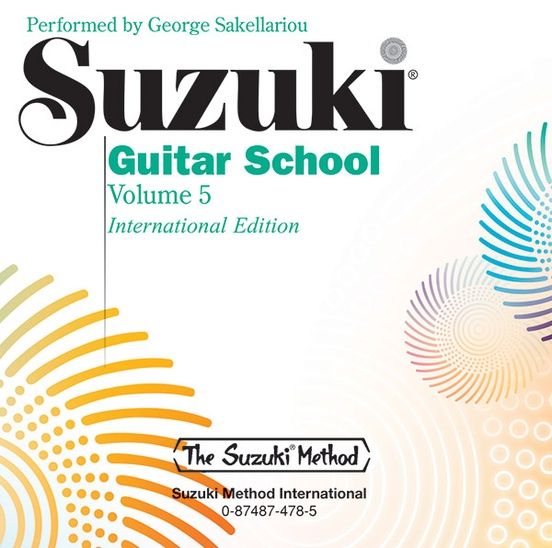Suzuki Guitar School CD, Volume 5