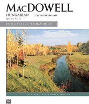 MacDowell: Hungarian, Opus 39, No. 12