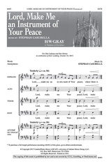 Lord, Make Me an Instrument of Your Peace