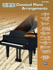 10 for 10 Sheet Music: Classical Piano Arrangements