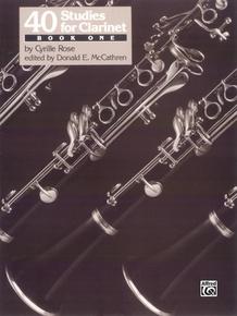 40 Studies for Clarinet, Book 1
