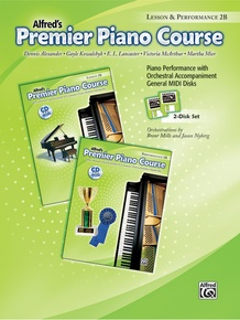 Premier Piano Course, GM Disk 2B for Lesson and Performance