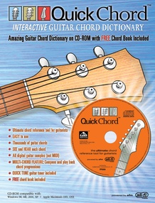 Quick Chord™ <I>Interactive</I> Guitar Chord Dictionary
