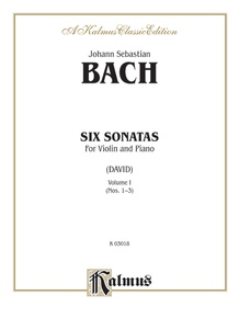 Six Sonatas, Volume I