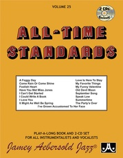 Jamey Aebersold Jazz, Volume 25: All-Time Standards