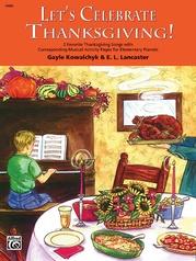 Let's Celebrate Thanksgiving!
