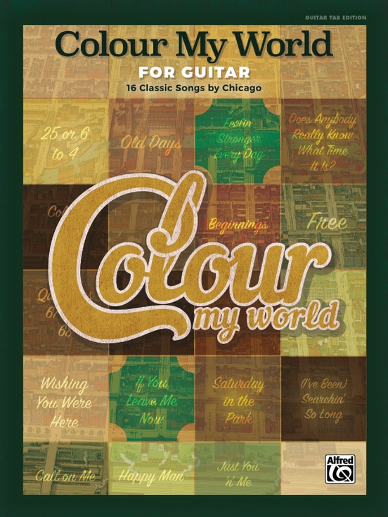 Colour My World for Guitar