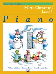 Alfred's Basic Piano Library: Merry Christmas! Book 3