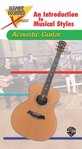Ultimate Beginner Xpress™: An Introduction to Musical Styles for Acoustic Guitar