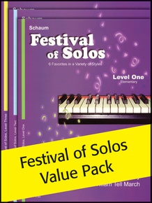 Festival of Solos 1-3 (Value Pack)