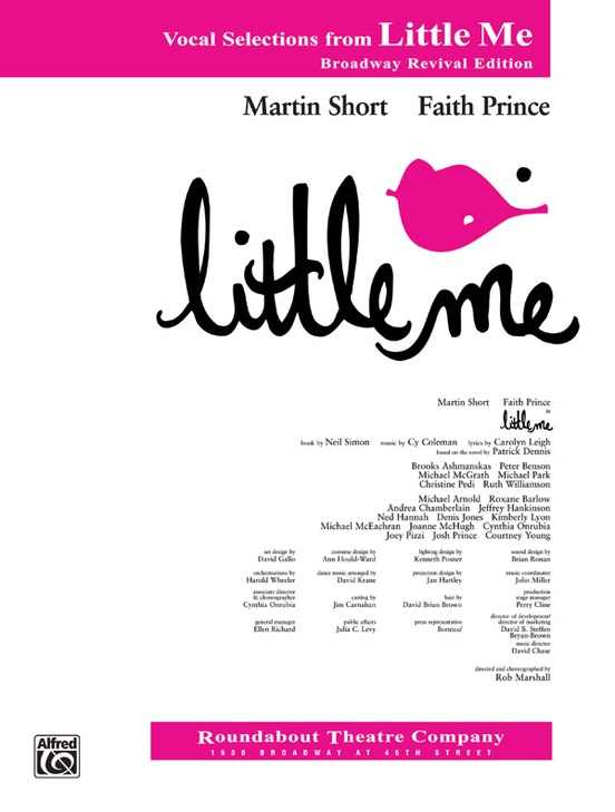 Little Me (Broadway Revival Edition): Vocal Selections
