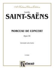 Morceau de Concert, Opus 94