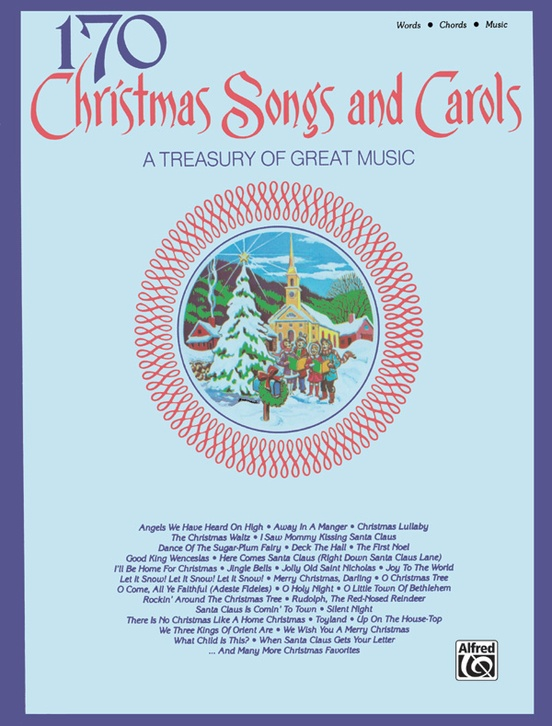 170 Christmas Songs And Carols Pianovocalchords Book