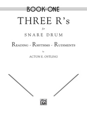 Three R's for Snare Drum, Book One