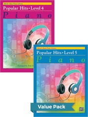 Alfred's Basic Piano Library: Popular Hits, Levels 4 & 5