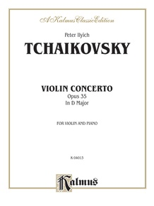 Violin Concerto, Opus 35 in D Major