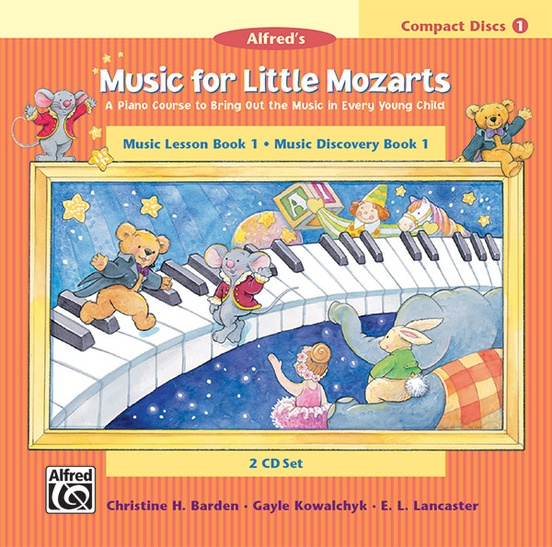 Music for Little Mozarts: CD 2-Disc Sets for Lesson and Discovery Books, Level 1