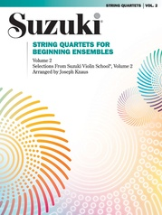 String Quartets for Beginning Ensembles, Volume 2