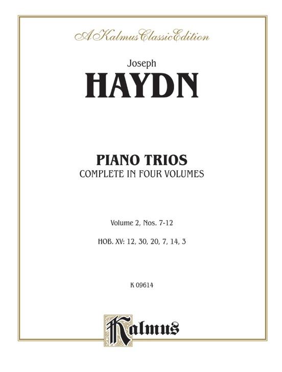 Trios for Violin, Cello and Piano, Volume II (Nos. 7-12, HOB. XV: 12, 30, 20, 7, 14, 3)
