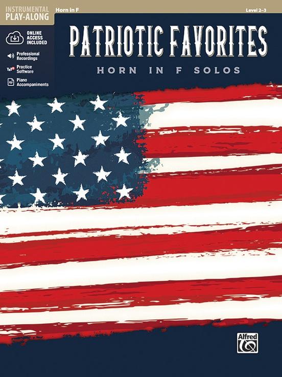 アメリカ愛国曲集(ホルン)【Patriotic Favorites Instrumental Solos】
