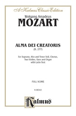 Alma Dei Creatoris, K. 277