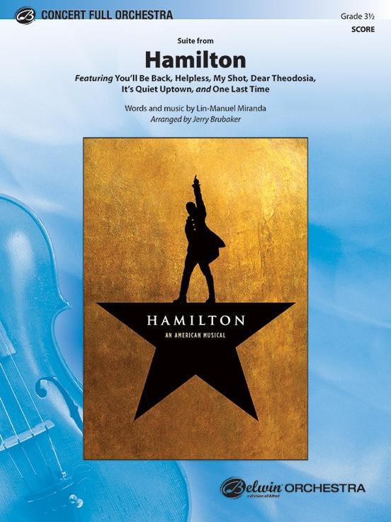 Hamilton, Suite from