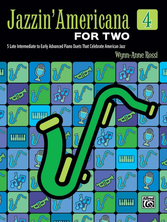 Jazzin' Americana for Two, Book 4
