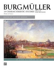 Burgmüller: 18 Characteristic Studies, Opus 109