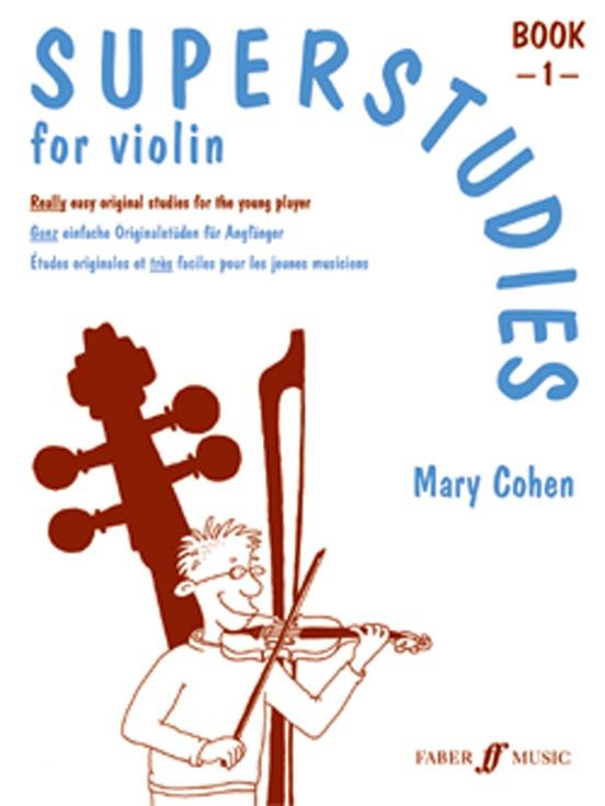 Superstudies for Violin, Book 1