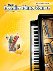 Premier Piano Course, Notespeller 1B