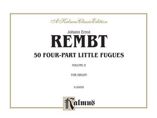 50 Four-part Little Fugues, Volume II