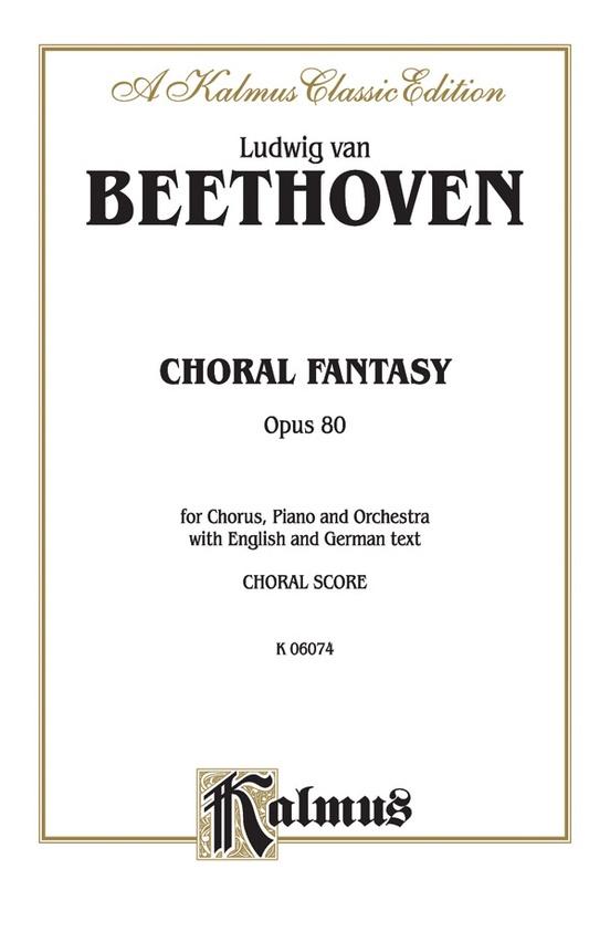 Choral Fantasy, Opus 80