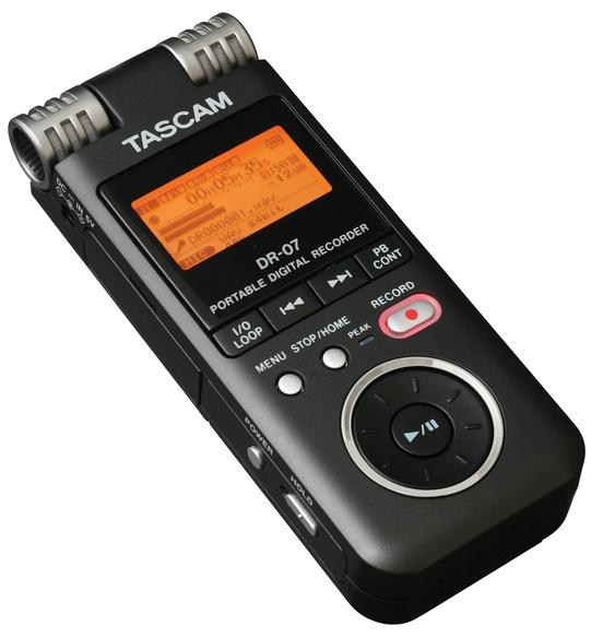 Tascam DR07 Handheld Stereo Recorder