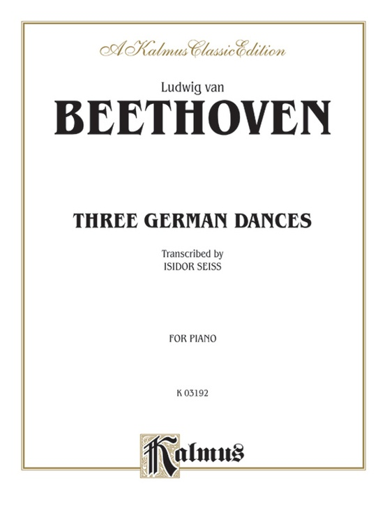 Three German Dances