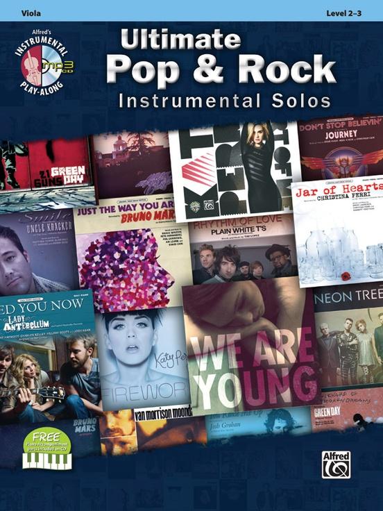 究極のポップ&ロック・ソロ曲集(ヴィオラ)【Ultimate Pop & Rock Instrumental Solos】