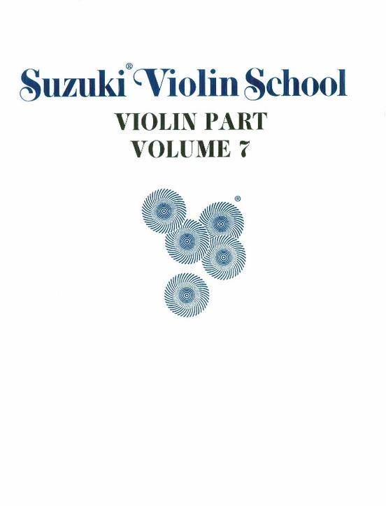 Suzuki Violin School Violin Part, Volume 7