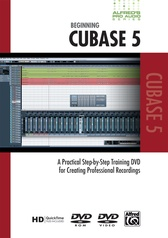Alfred's Pro Audio Series: Beginning Cubase 5
